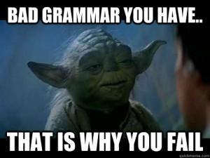 correct english sentence