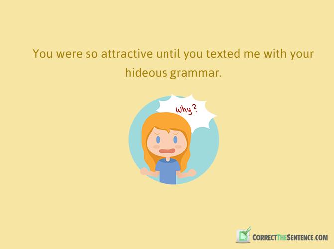 fun sentences in english illustrations